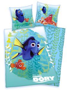 Disney`s Findet Dorie Nemo Bettwäsche 80x80 + 135x200cm