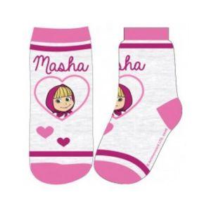 Masha und der Bär Socken 23/26 grau