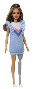Barbie Fashionistas Puppe mit Beinprothese