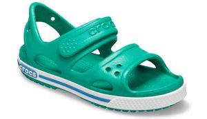 Crocs Crocband II Sandal PS Sandalen Grün - Jungen, Größe:20-21