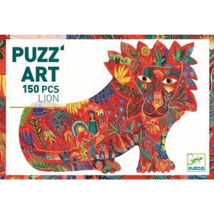 DJECO Puzz'art: Lion - 150 Teile Puzzle
