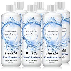 Wark24 Wasserbett Konditionierer 250ml Mehrbereichs 20% Wirkstoffgeh  (6er Pack)