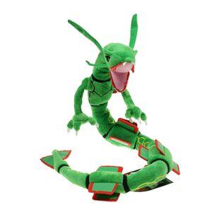 XXL 80cm Rayquaza Dragon Plüschpuppe  Kuscheltier Plüschtiere Stofftier Geschenk Für Kinder