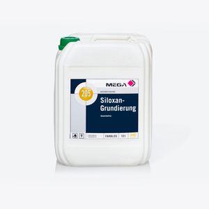 MEGA 205 Siloxan-Grundierung 10 Liter farblos