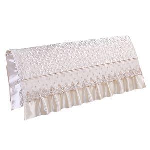 1 Stück Bettkopfteilbezug (nur Abdeckung, Kopfteil ist nicht enthalten) Beige 220 cm