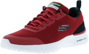 SKECHERS 232007/RDBK Skech-Air Dynamight-Winly Herren Sneaker rot/schwarz/weiß, Größe:43, Farbe:Rot
