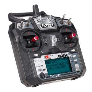 Flysky FS-i6X 2,4 GHz 10CH AFHDS 2A RC-Sender mit FS-iA10B-Empfänger für RC Drone-Flugzeughubschrauber
