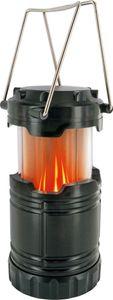 SCHWAIGER -CALED2 533- LED Campingleuchte mit Lagerfeuer Effekt, Schwarz