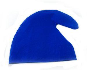Zwergenmütze ifür Erwachsene - Zwergen Hut Mütze - Gnommütze - Zwerg blau