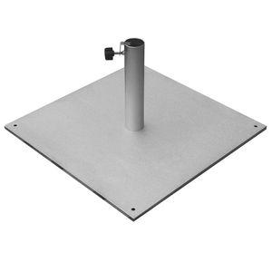 Sonnenschirmständer Schirmständer 40 kg eckig aus Stahl