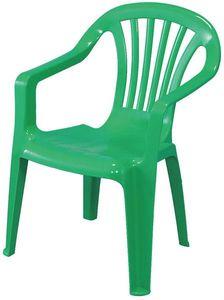 Kinder Gartenstuhl / Kinderstuhl Kunststoff grün
