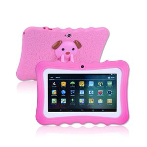 7 Zoll Kinder Tablet Android 4.4 Tablet PC Quad Core Dual-Kameras 8 GB WiFi Tablet PC Pad für Kinder - Rosa