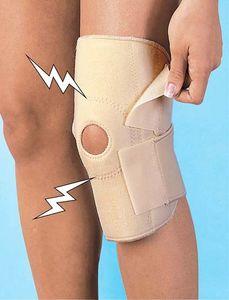 Magnetische Kniebandage Damen oder Herren Bandage FR à 400 Gauss