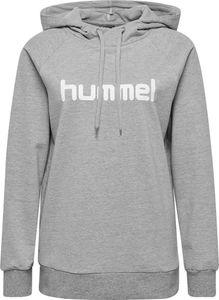 hummel hmlGO Baumwoll Logo Hoodie Damen grey melange M