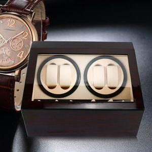 4+6 Uhrenbeweger  Uhrenkasten Automatisch Watch Winder Beweger Uhrenbox Holz Schaukasten Uhrendreher Vitrine Sandelholz