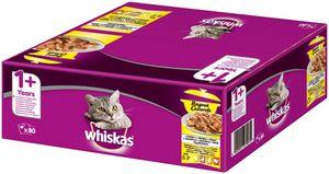 Whiskas Ragout Adult 1+ | Katzenfutter Nassfutter Auswahl in Gelee 80x85g