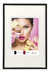 Photo Style Kunststoff Bilderrahmen 20x20 cm bis 50x70 cm DIN A4 A3 Fotorahmen Farbe: Schwarz | Format: 50x70