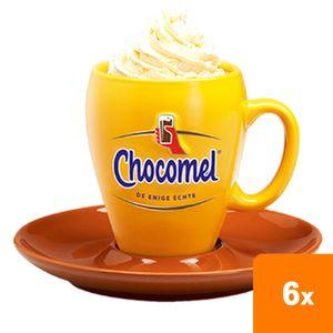 Chocomel Becher & Untertasse - 6-er Set