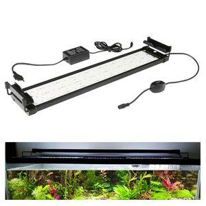 EINFEBEN LED Aquarium RGB &Vollspektrum Aufsetzleuchte Beleuchtung 50-70cm