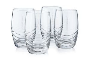 sodastream Trinkglas 4er-Pack, passend zu sodastream-Glaskaraffen