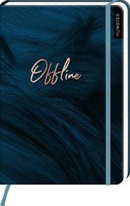 myNOTES Notizbuch A5: Offline - notebook medium, dotted - für Träume, Pläne und Ideen / ideal als Bullet Journal oder Tagebuch