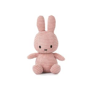 Miffy Cord-Plüschfigur (rosa, 24cm) Kuscheltier Stofftier Hase Plüschtier
