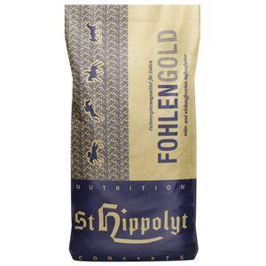 St. Hippolyt Fohlengold Müsli 20 kg - Fohlenfutter für besondere Ansprüche