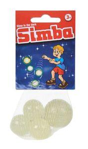 Simba 107822069 Glow in the dark Flummi-Set 5-teilig