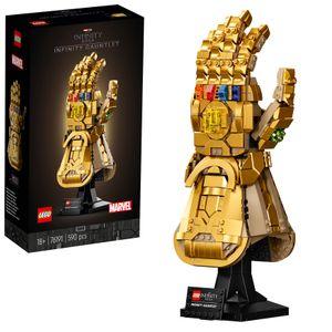 LEGO 76191 Marvel Super Heroes Infinity Handschuh, Avengers Set für Erwachsene mit dem Gauntlet von Thanos, Fanartikel