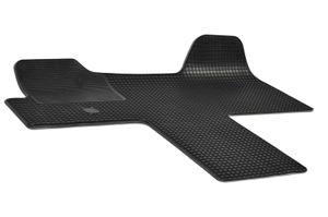 Gummifußmatten passend für Fiat DUCATO (2014-) 1-teilig schwarz