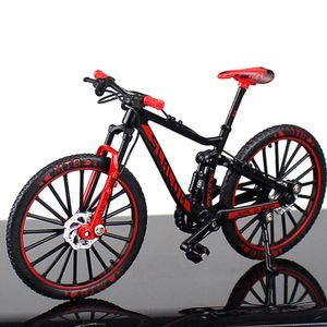 Mini Finger rote Fahrräder Mini Extreme Sport Finger Fahrrad Zubehör Metall Spielzeug Kreative Geschenke