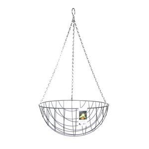 Esschert Design Hanging Basket Metallkorb Ø 35 cm mit Kette