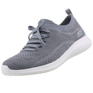 Skechers Damen Sneaker Ultra Flex STATEMENTS Grau-Blau, Schuhgröße:EUR 39