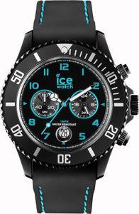 Ice Watch Ice-Chrono Drift Big Herren Chronograph schwarz/türkis CH.BTE.B.S.14