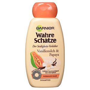 Garnier Wahre Schätze Shampoo Vanillemilch und Papaya 250 ml