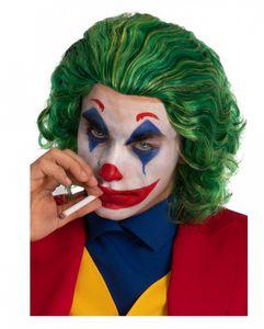 Grüne Joker Horrorclown Perücke