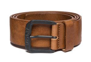 REPLAY Vintage Leather Belt W100 Tan