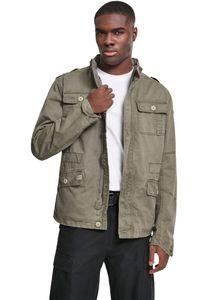 Brandit - Britannia Jacket 3116-1 Oliv Jacke Herren Feldjacke Used Look Größe 3XL