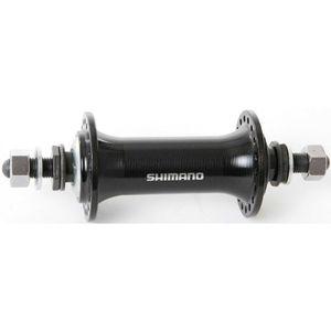 """SHIMANO V.R.-Nabe """"HB-TX 800"""" Mod. 15 SB-verpackt, Vollachse 100 mm Einbaubreite, 140 mm Achslänge 32 Loch, schwarz"""