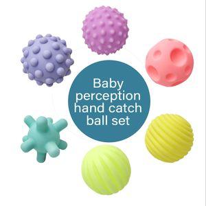Textured Multi Ball Set, Texturierte Bälle im Set für die sensorische Entwicklung – Für Kinder ab 6 Monaten