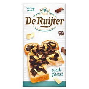 De Ruijter - Vloffeest - Schokoflocken gemischt - 300g