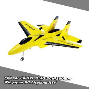 Flybear FX-820 2,4G 2CH Fernbedienung SU-35 Segelflugzeug 290mm Spannweite EPP Micro Indoor RC Flugzeug Flugzeug RTF
