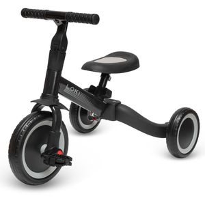ib style® Loki 4 in 1 Multifunktions Dreirad   Laufrad   Balance Fahrrad   1-5 Jahre   Bis 25kg