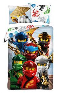 Lego Ninjago Bettwäsche 140 x 200 cm