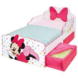 Minnie Mouse Exzellent geformtes Kinderbett + Schubladen