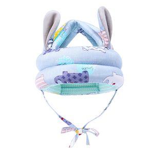 Kleinkind Kopfschutz Schutzhelm Baby Walking Helm Schutzhelm Anti Crash aus Baumwolle Sicherheit Hut 40-45cm Grau Baby Kleinkind Schutzhelm