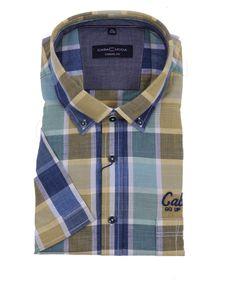 Button Down Hemd in großen Größen von Casa Moda, gelb, Größe:6XL