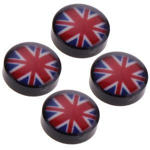 4 Stück Magnetische Ohrringe 2 8 mm Britische Flagge