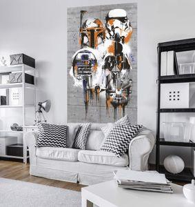 "Komar Digitaldruck Vlies Panel ""Star Wars Celebrate The Galaxy"" 120 x 200 cm, bunt, VD-022"