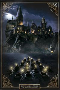 Harry Potter Poster Hogwarts Castle 91,5 x 61 cm